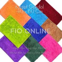 Keset Cendol Microfiber / Anti Slip / licin / karpet dekorasi ruangan