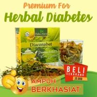 Jual Teh Herbal Diaconabet, Obat Diabetes, Daun Yakon, Insulin, Yacon Peru Murah
