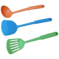 Kitchen Tools Set 3in1 Sutil Spatula Erus Sendok Sayur Kuah Sup Dapur