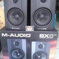 M Audio M-Audio BX8 D2 ( Pair ) Amplified Studio Monitor