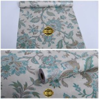 Harga terlaris grosir murah wallpaper sticker dinding batik bunga | Pembandingharga.com