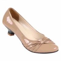 Sepatu Wanita Bahan SP Heels TI 3177 Zeintin