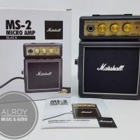 Amplifier / Ampli Gitar Mini Micro Amp Black Marshall MS-2 / MS2