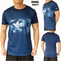Harga kaos pria olahraga fitness kaos cowok futsal adidas 5066   antitipu.com