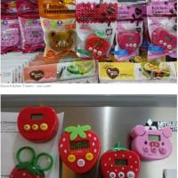 Daiso Kitchen Timer - Alarm Masak Dapur Magnet
