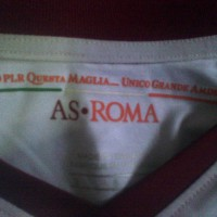 JERSEY RETRO AS ROMA AWAY LENGAN PANJANG LS GO 2013-2014 13-14