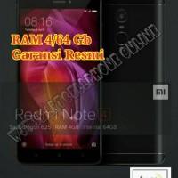 Jual Xiaomi Redmi Note 4 TAM Ram 4/64 Gb Garansi Resmi Murah