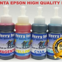Tinta isi ulang Epson Verry Ink L800,L805,L1800,R230,T60,Sp1390