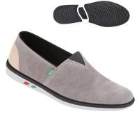 Sepatu Pria Bahan Canvas dan SP Slip On ts 0810 Zeintin
