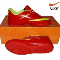 sepatu futsal anak nike acc kids original premium red green 33-37