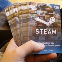 Jual Steam+wallet Global $20 / Giftcard Prepaid 20USD Murah
