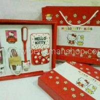 Paket Power Bank Karakter 5in1 Doraemon & Hello Kitty paling dicari