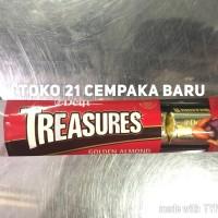 Jual Delfi Treasures Golden Almond |Chocolate Coklat Cokelat Treasure Murah Murah