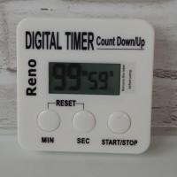 Reno Digital Kitchen Timer - untuk baking / masak.