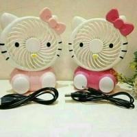 Kipas angin portable hello kitty1