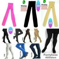 stocking wanita warna warni 480D