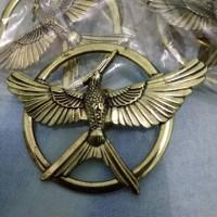 Jual Hunger Games Mocking Jay Brooch - Copper Murah