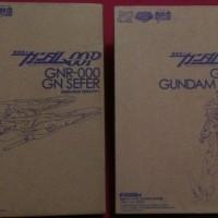 FG Mechanic File (Set) GN-XXX Gundam Rasiel & GNR-000 GN SEFER
