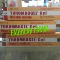 THROMBOGEL Gel (Heparin Sodium) Net 10 Gram/ Tube