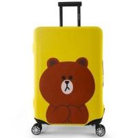 Jual Cover Pelindung Sarung Elastis Koper Luggage Travel Murah