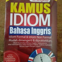 Terlengkap kamus idiom bahasa inggris