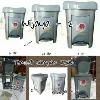 Tempah Sampah Injak 15 Liter / Livina Dutsbin 15 Liter
