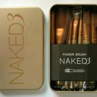 Kuas make up Naked 3 isi 12 pcs/Make Up Brush Naked 3