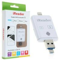 Jual CARD READER IREADER# IPHONE IPAD IPOD LIGHTHINING MICRO SD CARD READER Murah