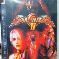 Soul Calibur IV 4 Kaset BD PS3 Lengkap Second bekas Mulus