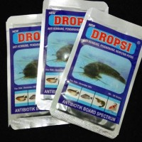 Dropsi Obat Ikan Anti Kembung Pendarahan Berputar-putar
