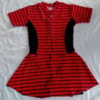 Baju Renang Wanita Garis Merah