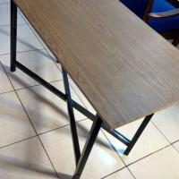 Jual Meja Lipat 120x60 Laptop Cafe bazar meja belajar untuk anak sekolahan Murah