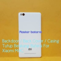 Backdoor Back Cover Casing Tutup Belakang Hp Xiaomi Mi4C Mi 4C Ori