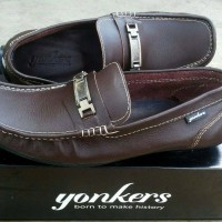 Jual Sepatu Pria Original Yonkers Slipon Casual Formal Kulit Asli Murah