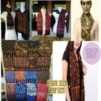 swahl batik / selendang batik / syal batik dewi / scarf modis