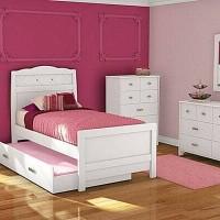 Set Kamar tidur anak minimalis cat duco
