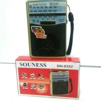 Speaker Radio Usb Memory Souness SN 632U