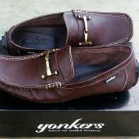 Jual Sepatu Pria Slipon Casual Pria Original Yonkers mocasin trendy elegan Murah