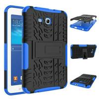 Casing Samsung Tab3 Tab 3 Lite T110 3v RUGGED ARMOR case KickStand
