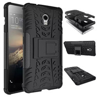 Casing Lenovo Vibe P1 Turbo Rugged Armor Kick Stand Soft Case Cover