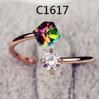 Cincin Magic Kristal Gold, C3 (JUAL KALUNG GELANG ANTING XUPING)