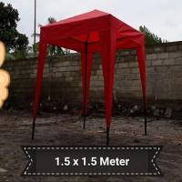 TENDA BAZAR PORTABLE 1,5 x 1,5 meter