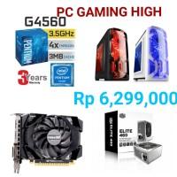 PC GAMING CUSTOM INTEL BASED HIGH GAMING TURUN HARGA (PC ONLY)