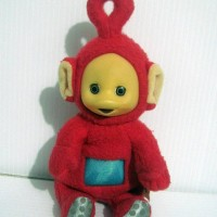 Boneka Poo Teletubbies Original Hasbro Tahun 90 an Mini Version