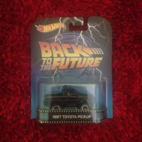 Hot Wheels Retro - Back To The Future 1987 TOYOTA Pick Up
