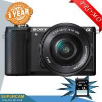 Sony Alpha A5000 / alpha 5000 kamera mirrorles Kit 16-50mm Black