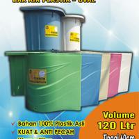 BAK AIR / BAK KAMAR MANDI TISSON 120 LITER