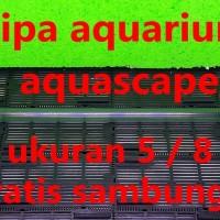 pipa bening undergavel filter filtrasi aquarium aquascape