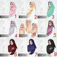 Jual Hijab / Jilbab Syar'i !! Hijab Instant 2faces Tazkia PAD Murah Murah
