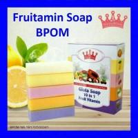 Jual SABUN PEMUTIH KULIT!! FRUITAMIN SOAP ORIGINAL!! Murah